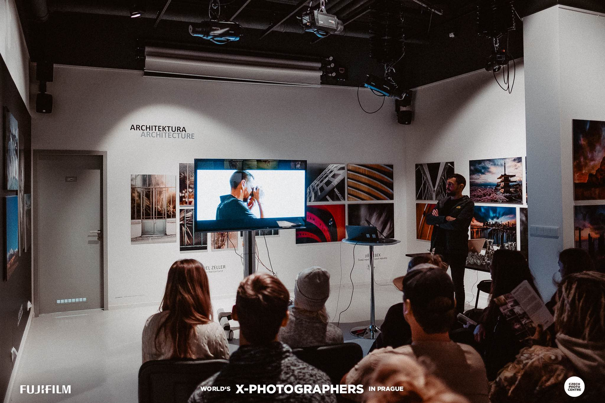 Jose Jeuland photography talk talks workshop fujifilm x photographers prague street photographer documentary editorial school users camera xt2 singapore the north face czech republic