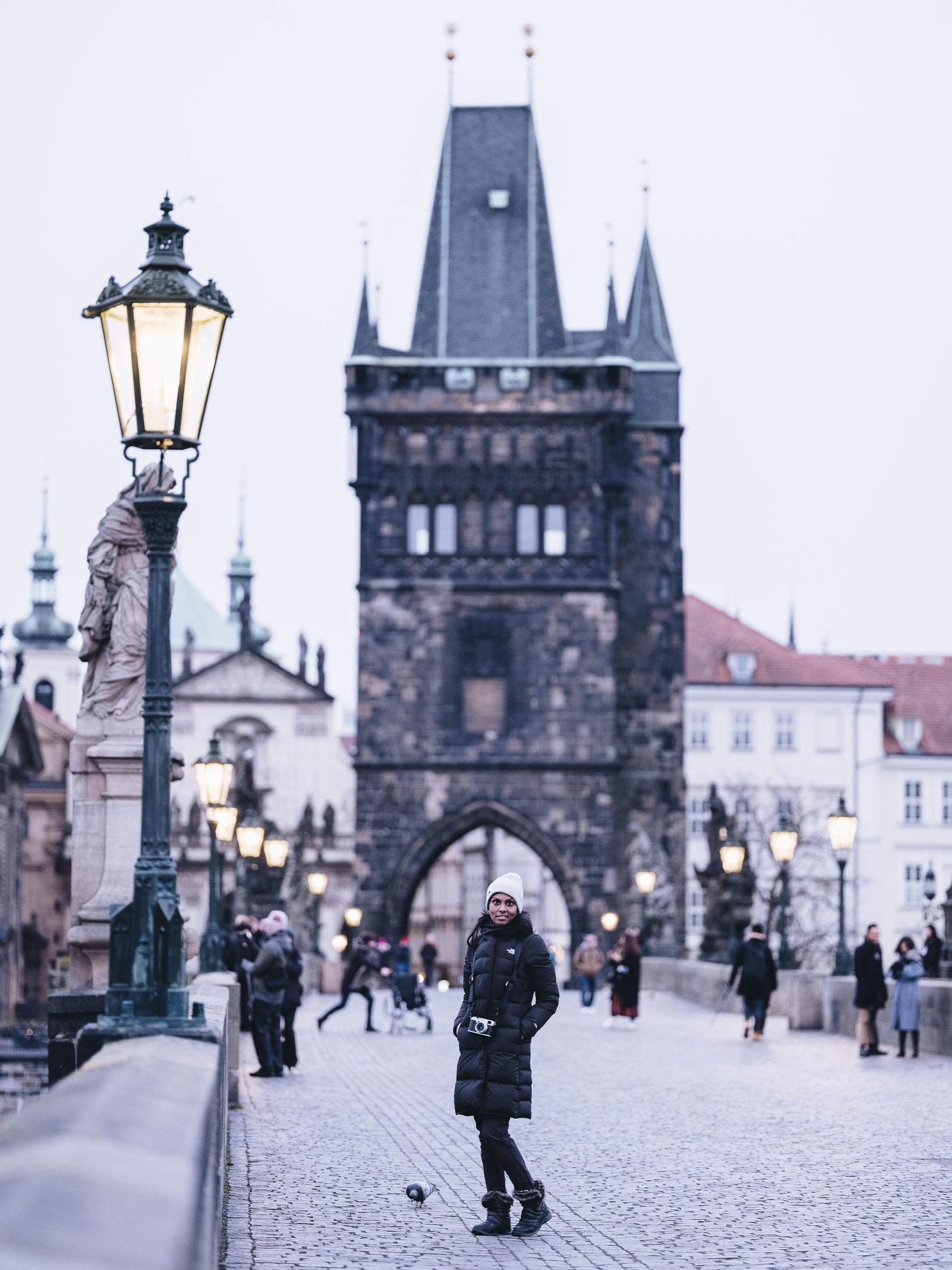 Shanthi Jeuland Prague cz bridge charles travel fujifilm gfx 50s photography photographer cityscape landscape travel voyage journey editorial trip