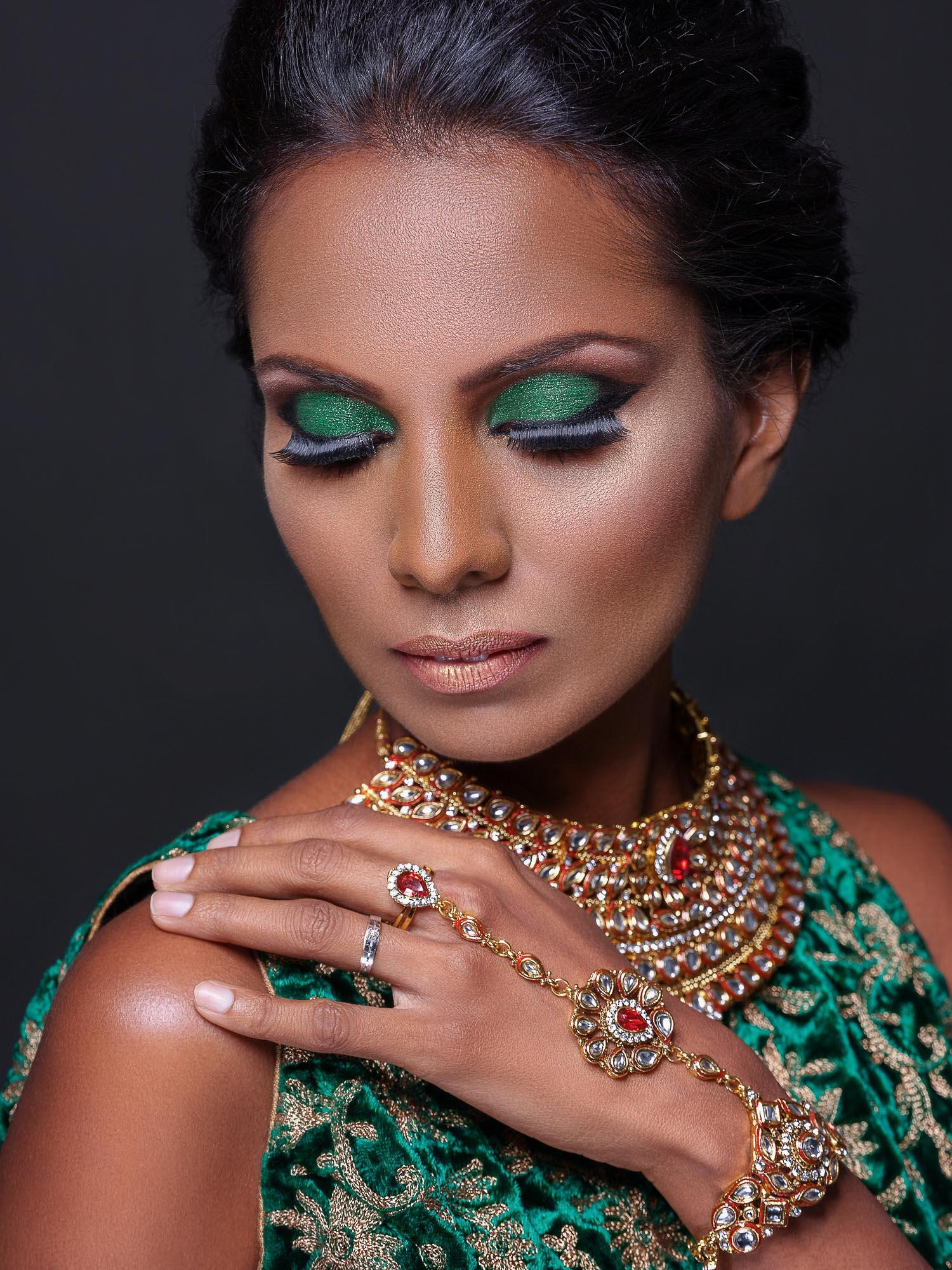 shanthi jeuland coco pr agency fashion beauty photography photographer model singapore sg mode studio photoshoot style fujifilm gfx 50s medium format india indian portrait gold green pretty 110mm