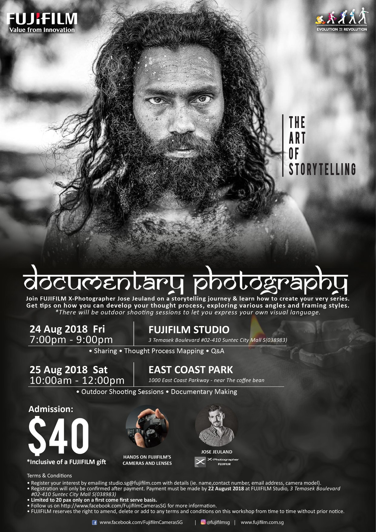 FUJIFILM Photography Workshop Singapore Jose Jeuland