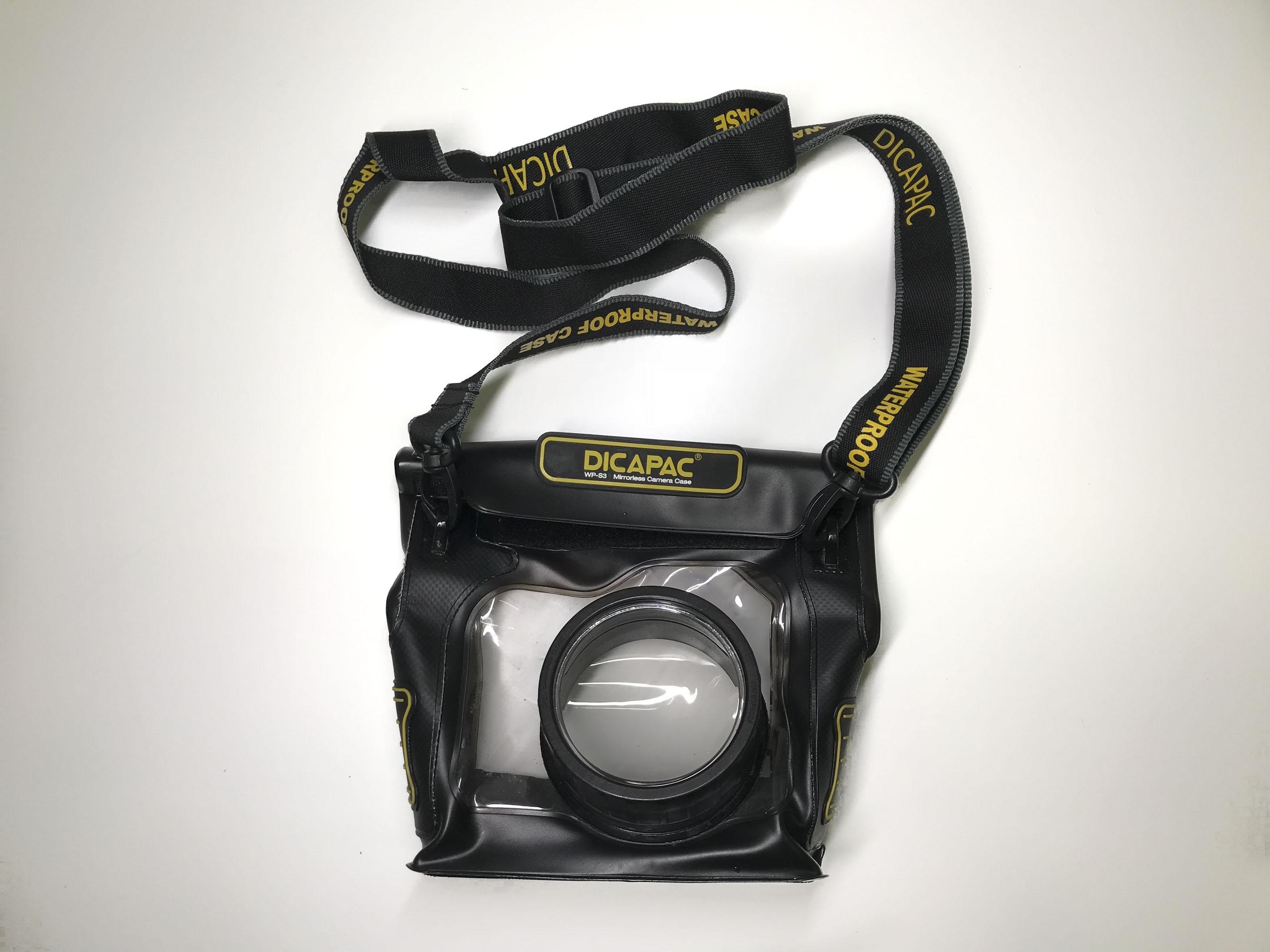 Underwater camera case Dicapac fujifilm