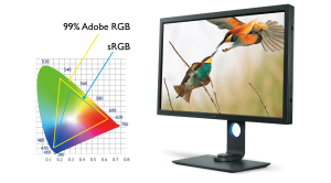 BenQ SW 320 Monitor review photographer videographer studio