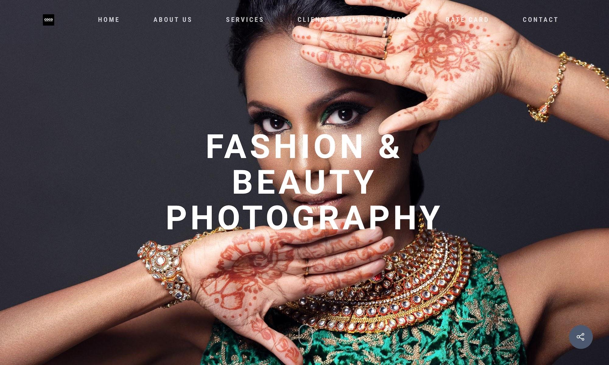 COCO Creative studio photography & videography Singapore - Fashion Beauty