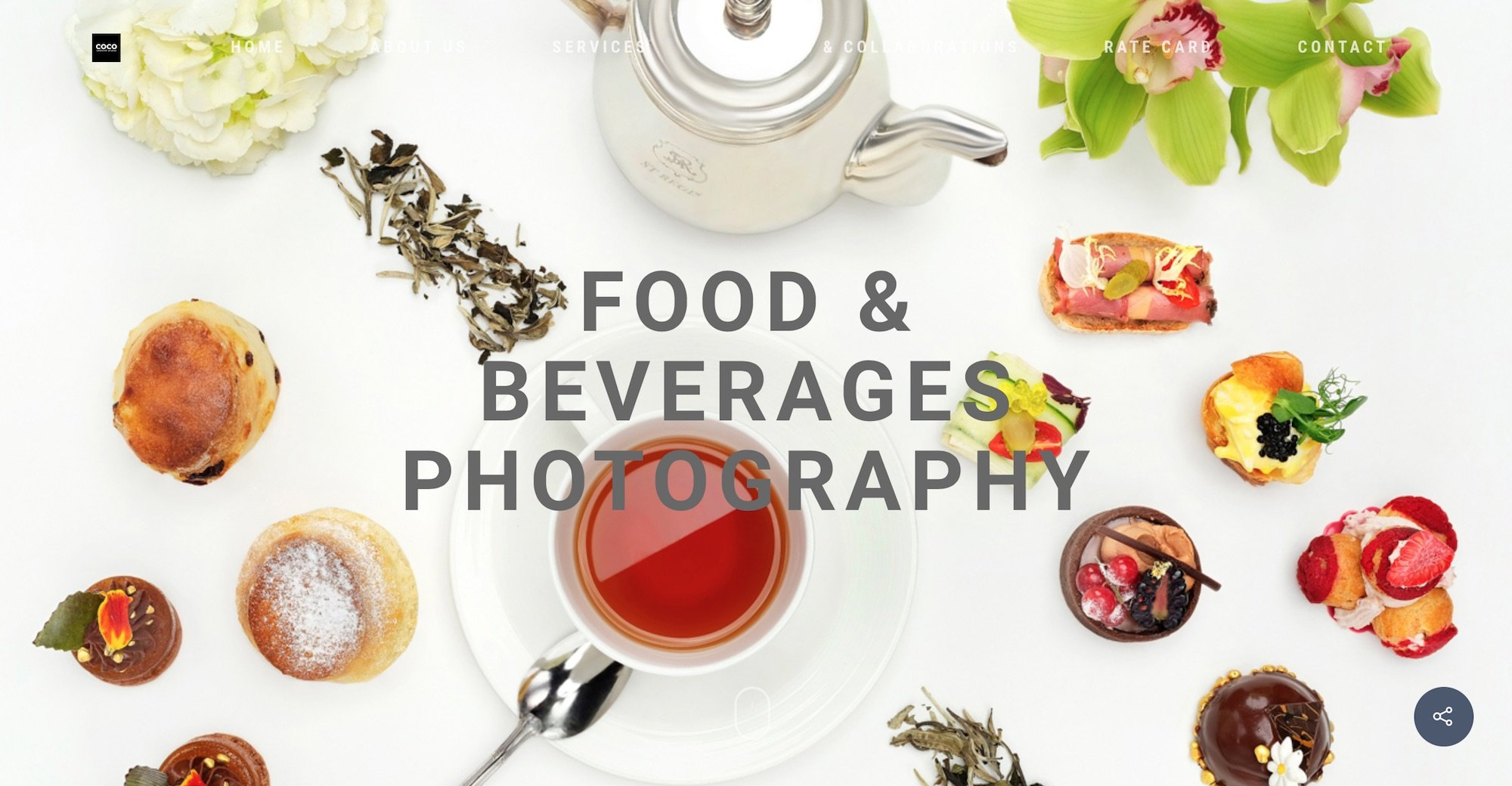 COCO Creative studio photography & videography Singapore - food beverages