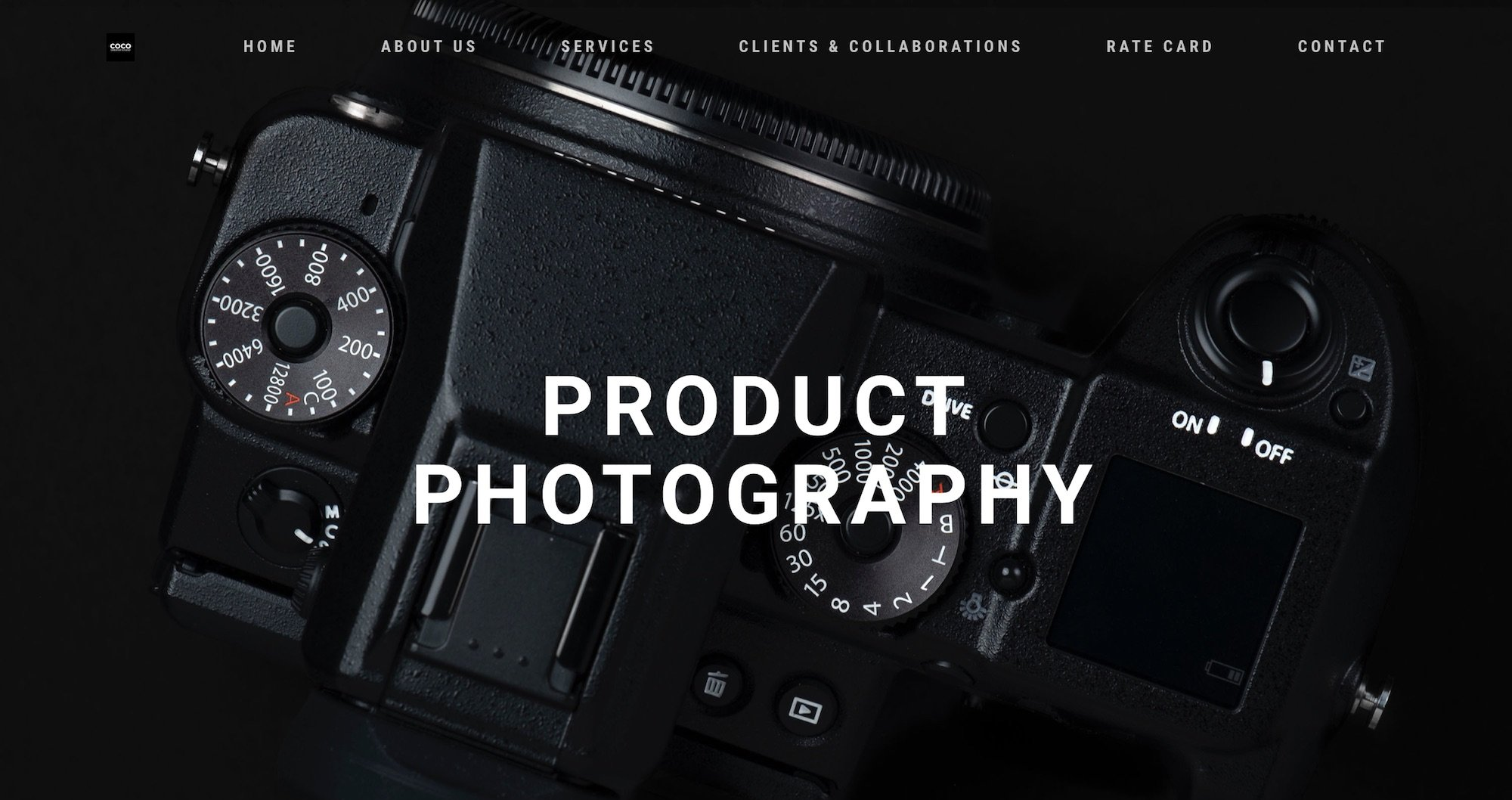 COCO Creative studio photography & videography Singapore - product shot