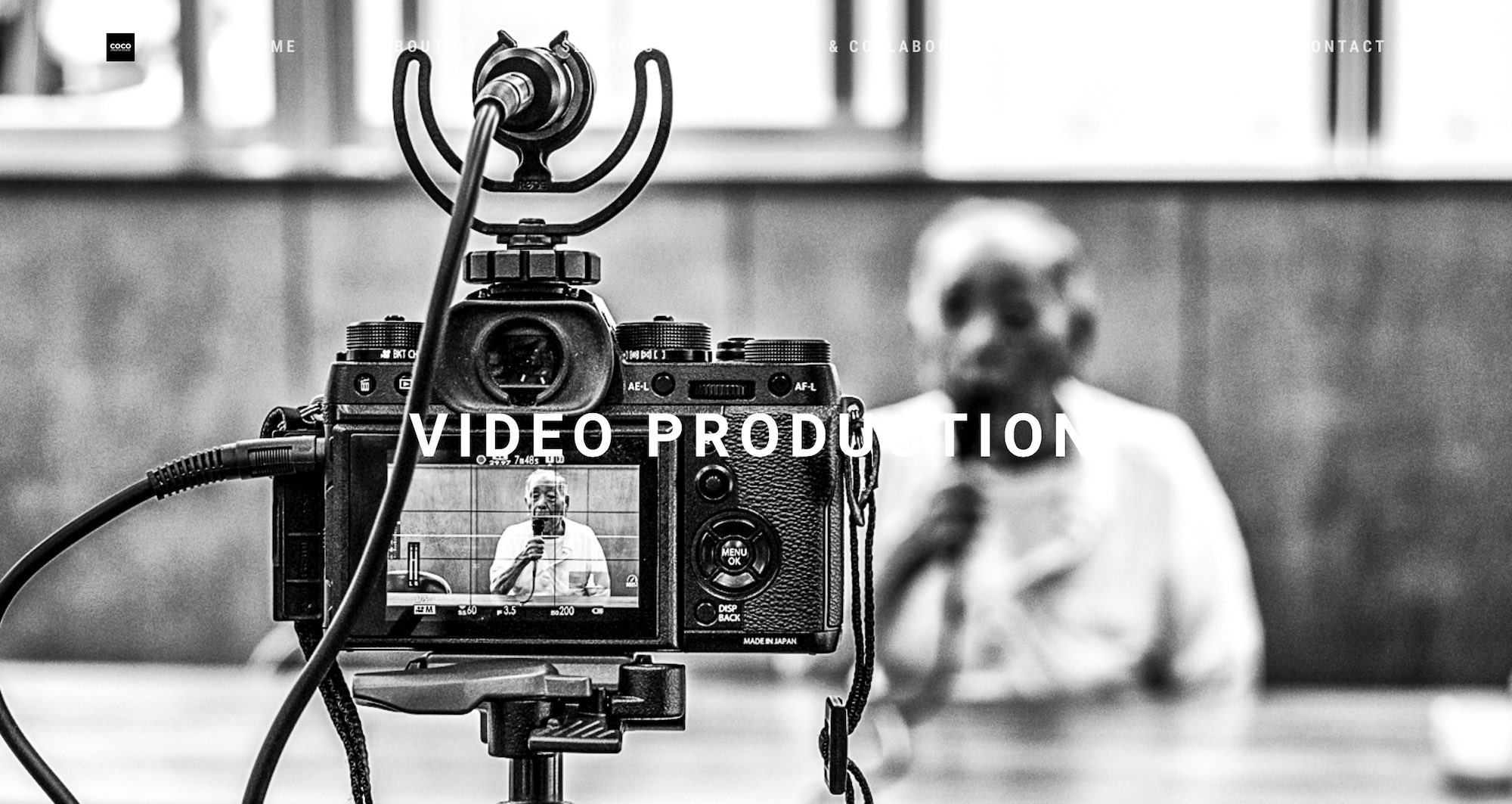COCO Creative studio photography & videography Singapore - production house