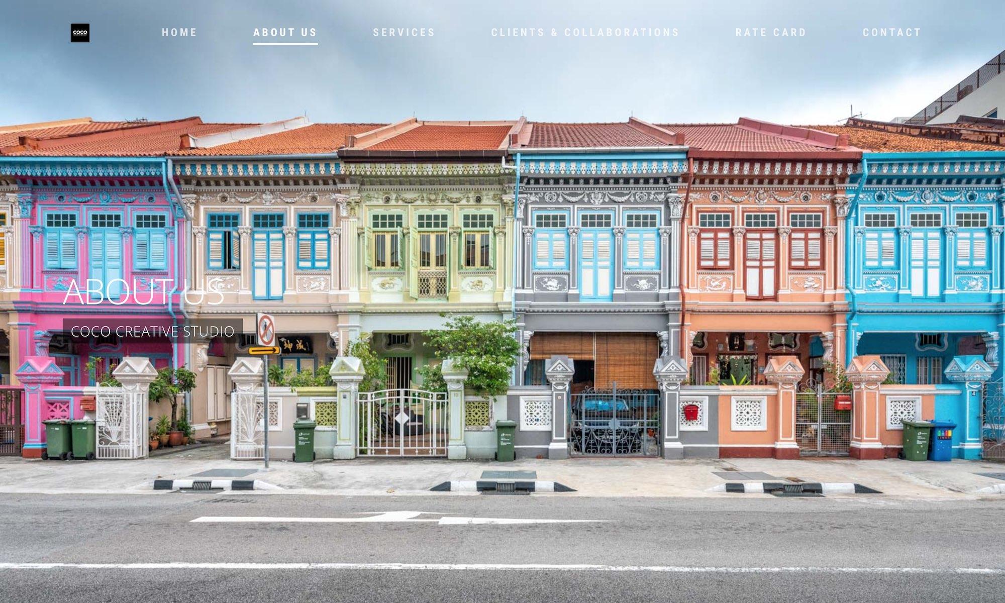 COCO Creative studio photography & videography Singapore - shophouse Joo Chiat SG