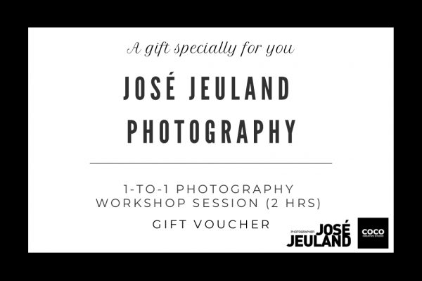Jose Jeuland workshop photography photographer gift voucher singapore