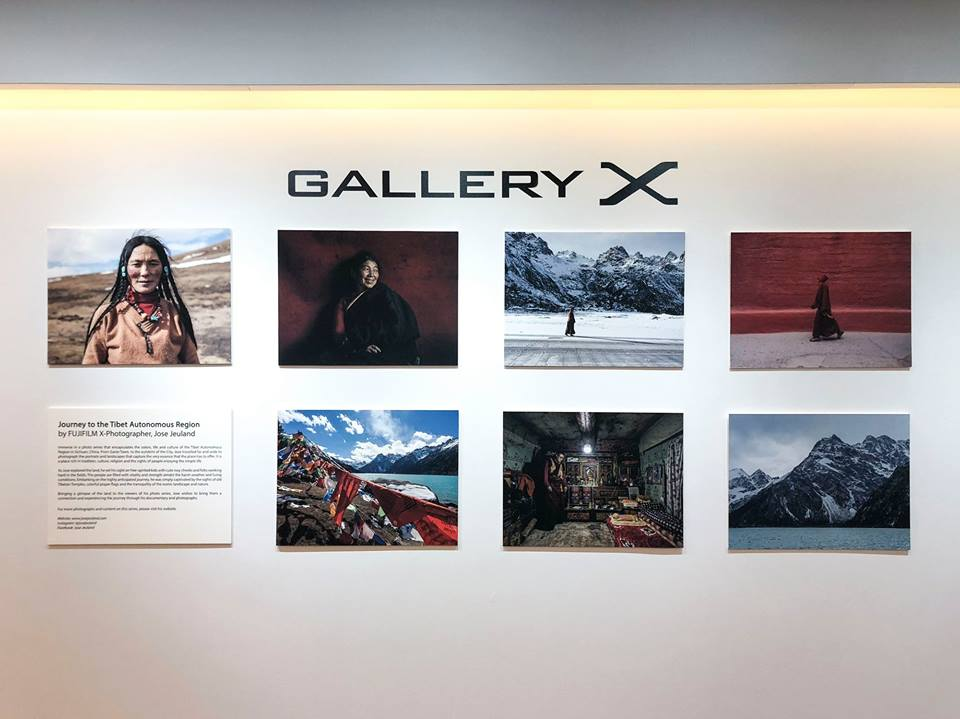 Photograpy exhibition singapore FUJIFILM x photographer jose jeuland china tibet