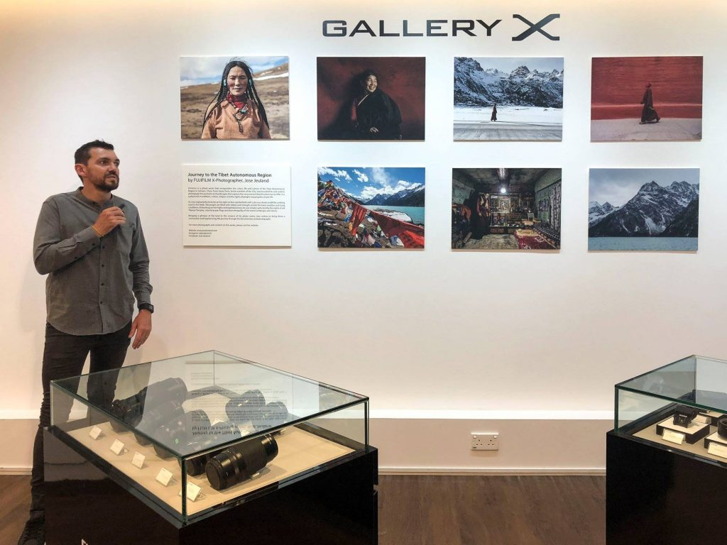 Photograpy exhibition singapore FUJIFILM x photographer jose jeuland china tibet