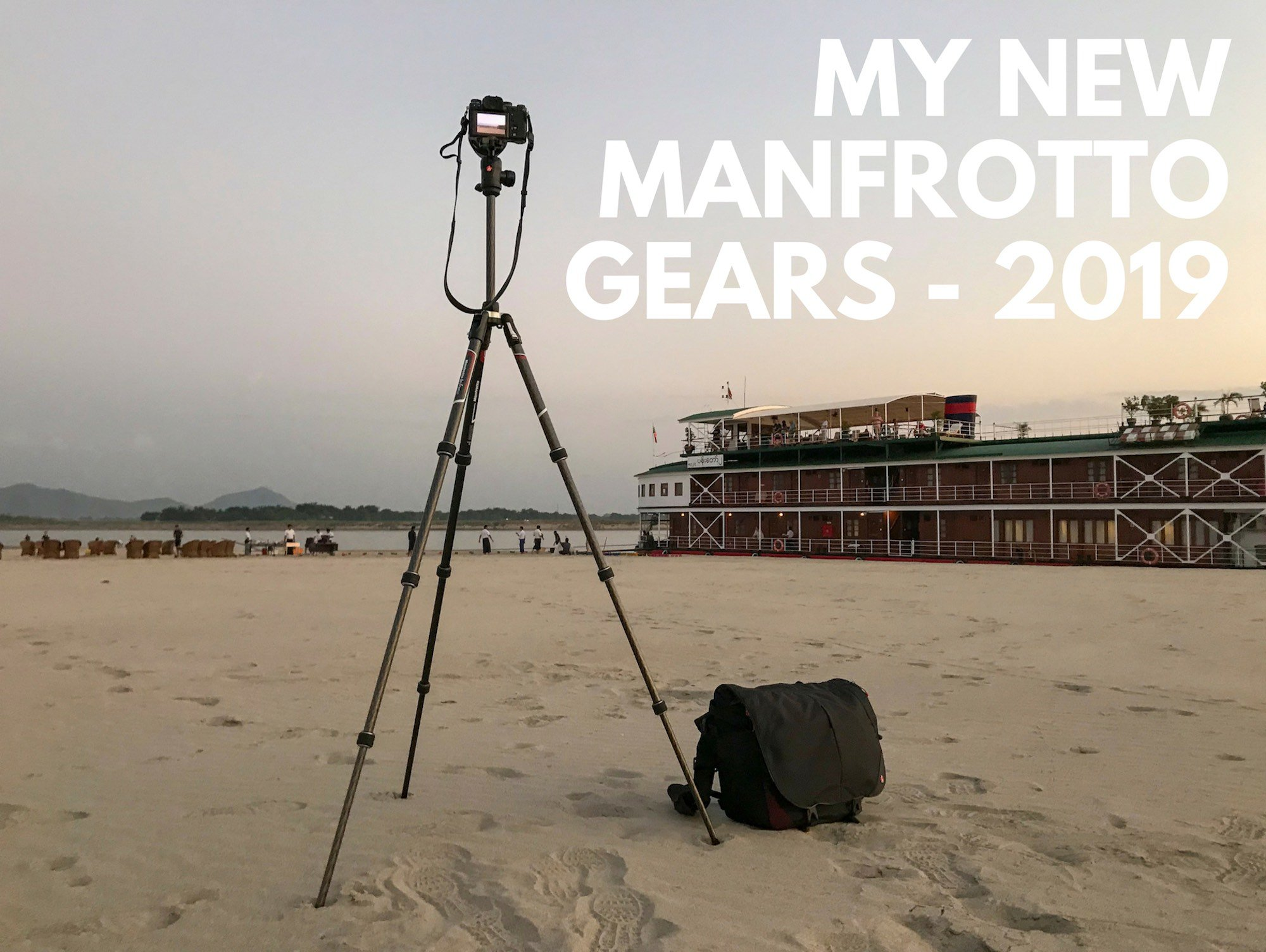 My new Manfrotto gears for 2019