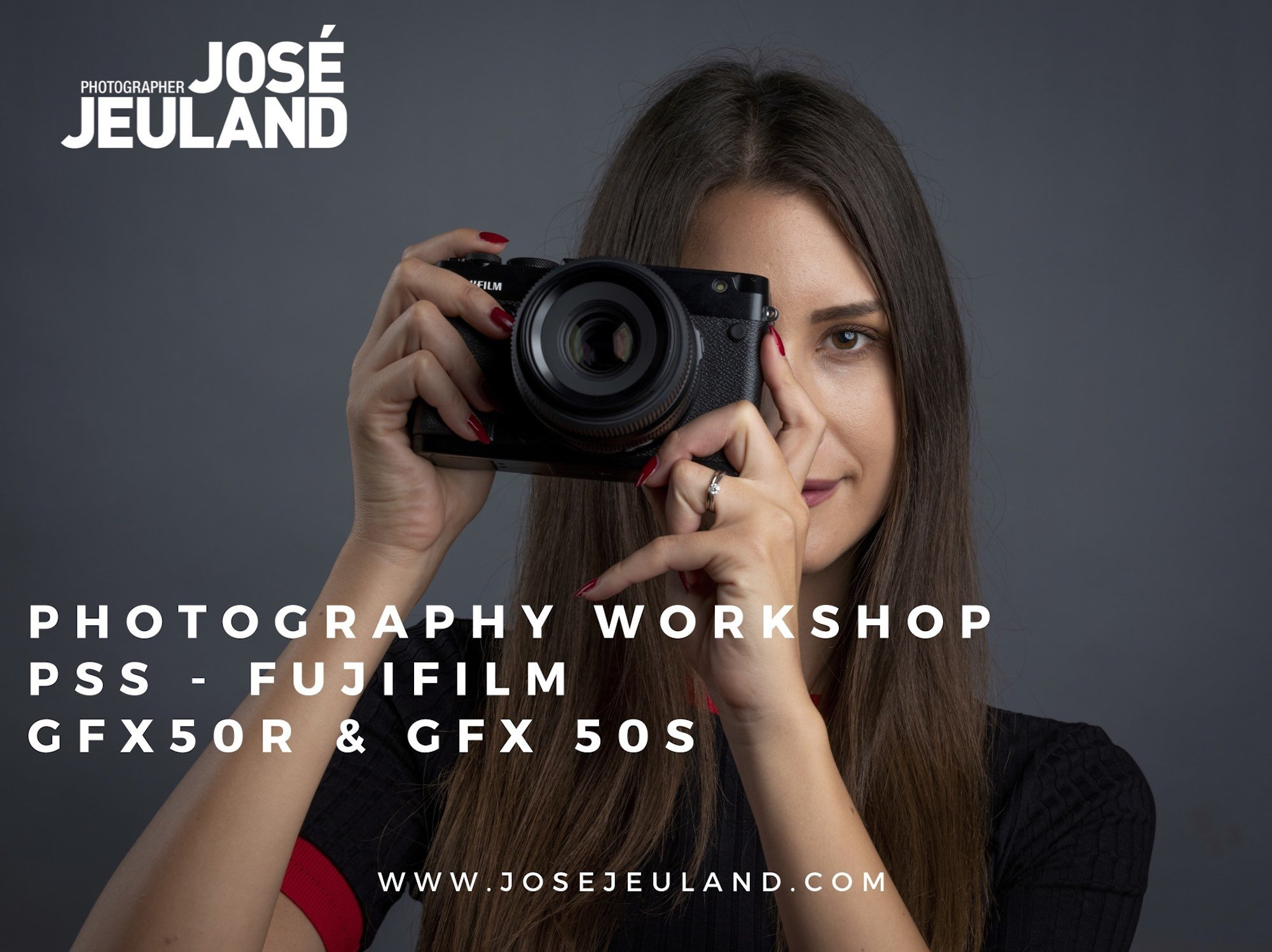 Photography Workshop PSS FUJIFILM GFX 50R GFX 50S Singapore Jose Jeuland Photographer studio shoot model