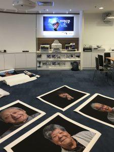 Epson printer photography exhibition singapore Hot Press Bright paper