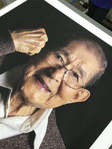 Epson printer photography exhibition singapore giant piece of art canvas print