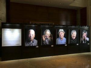 Epson printer photography exhibition singapore canvas portrait print people hotel fullerton