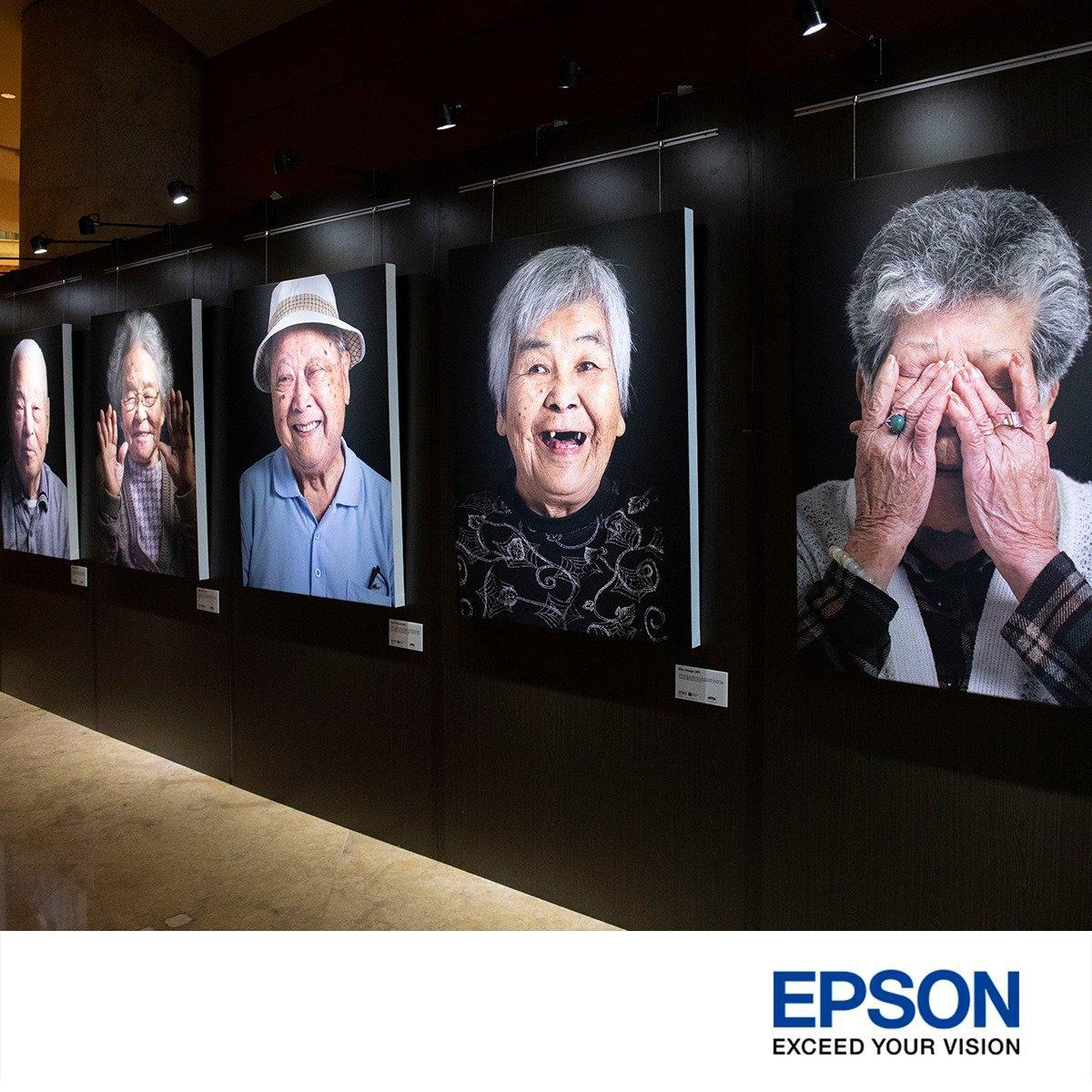 Epson printer photography exhibition singapore Okinawa portrait