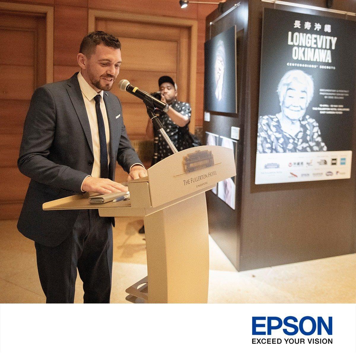 Epson printer photography exhibition singapore Jose Jeuland speech