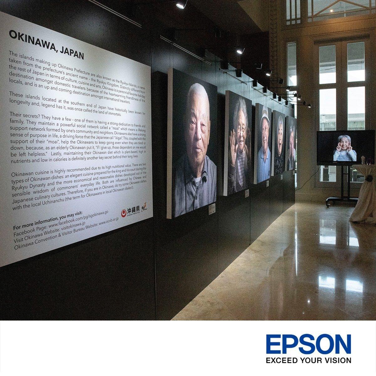 Epson printer photography exhibition singapore portrait print