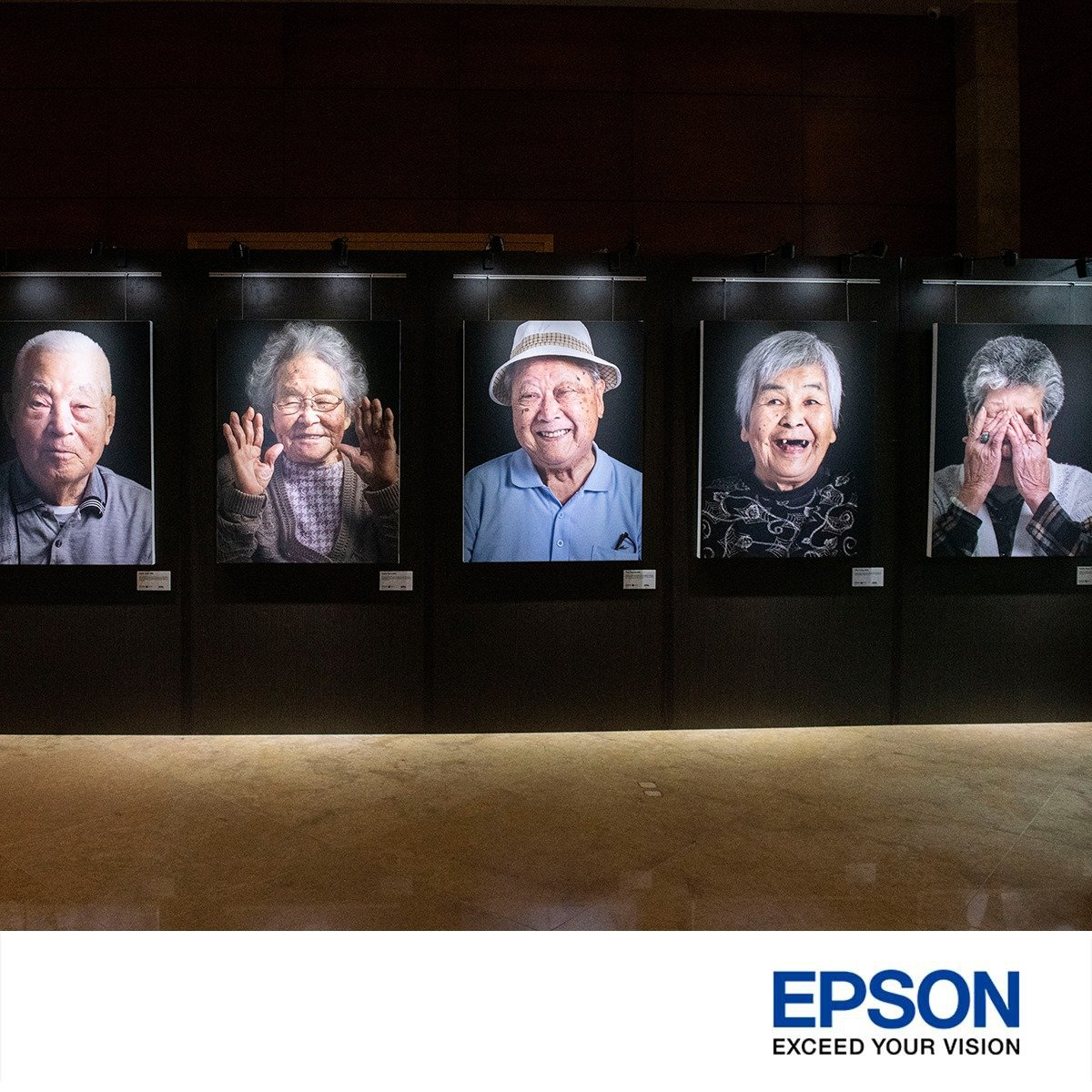 Epson printer photography exhibition singapore The fullerton hotel