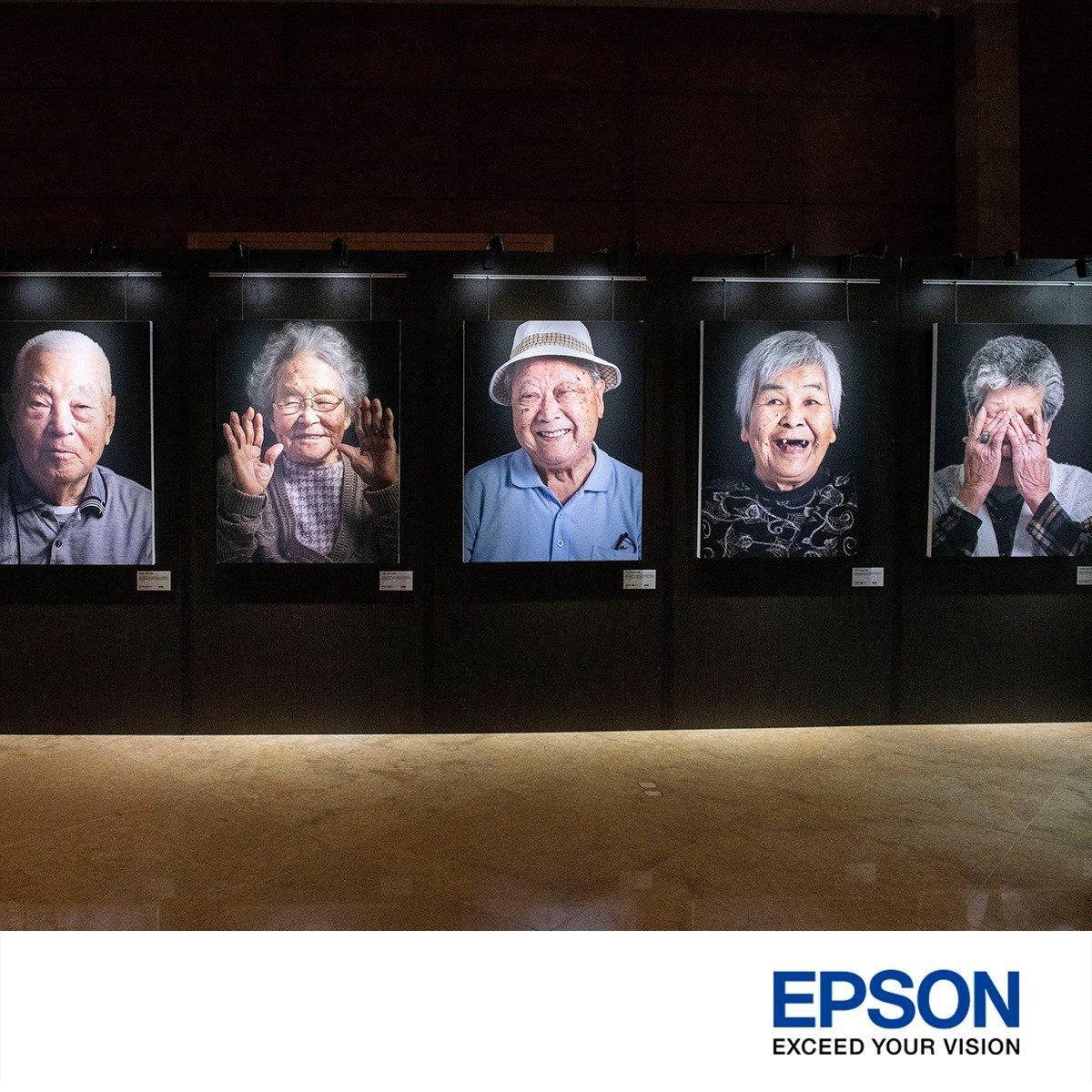 Epson printer photography exhibition singapore The fullerton hotel
