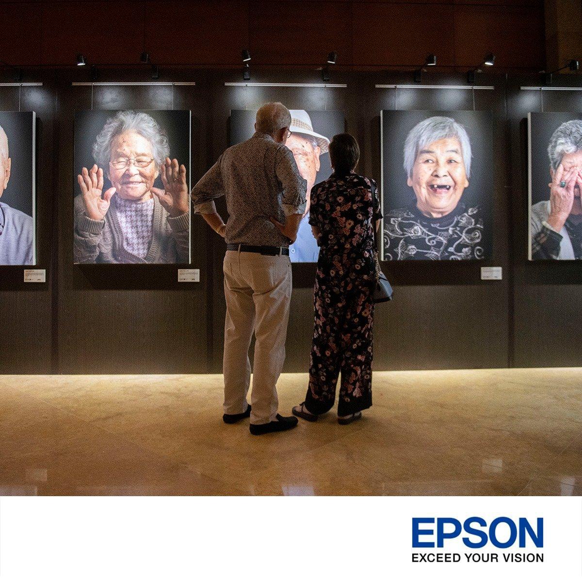 Epson printer photography exhibition singapore art show hotel portrait