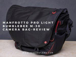 Manfrotto Pro Light Bumblebee M-30 Camera Bag messenger Review photographer