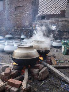 cooking wedding India New Delhi street photography Photographer Jose Jeuland FUJIFILM GFX50R travel