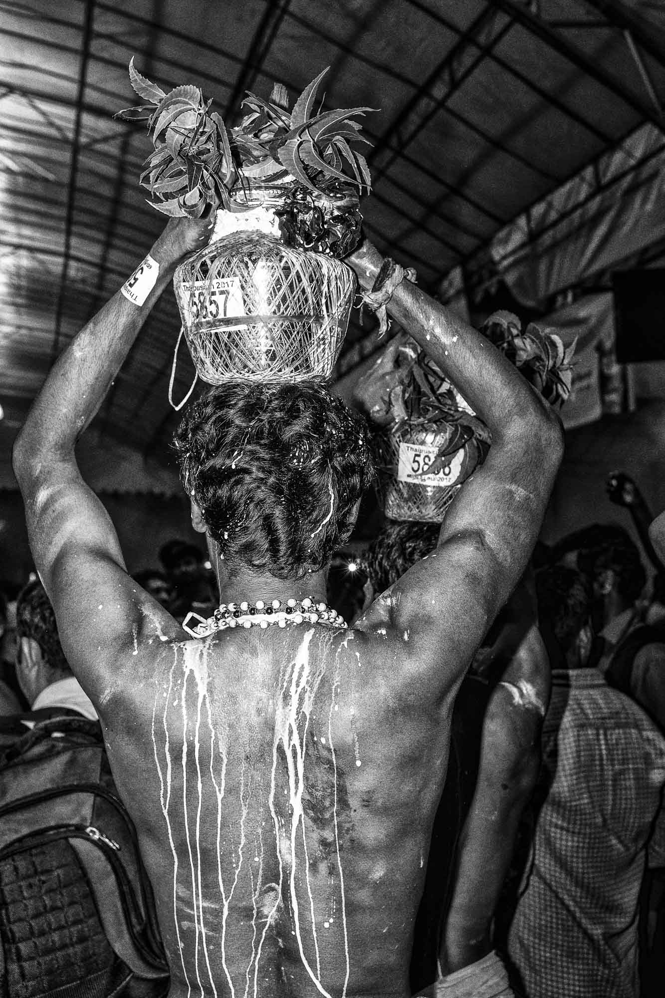 milk pot Little India Thaipusam Festival hindu Singapore photography jose jeuland documentary event