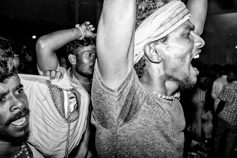 man happy Little India Thaipusam Festival hindu Singapore photography jose jeuland documentary event