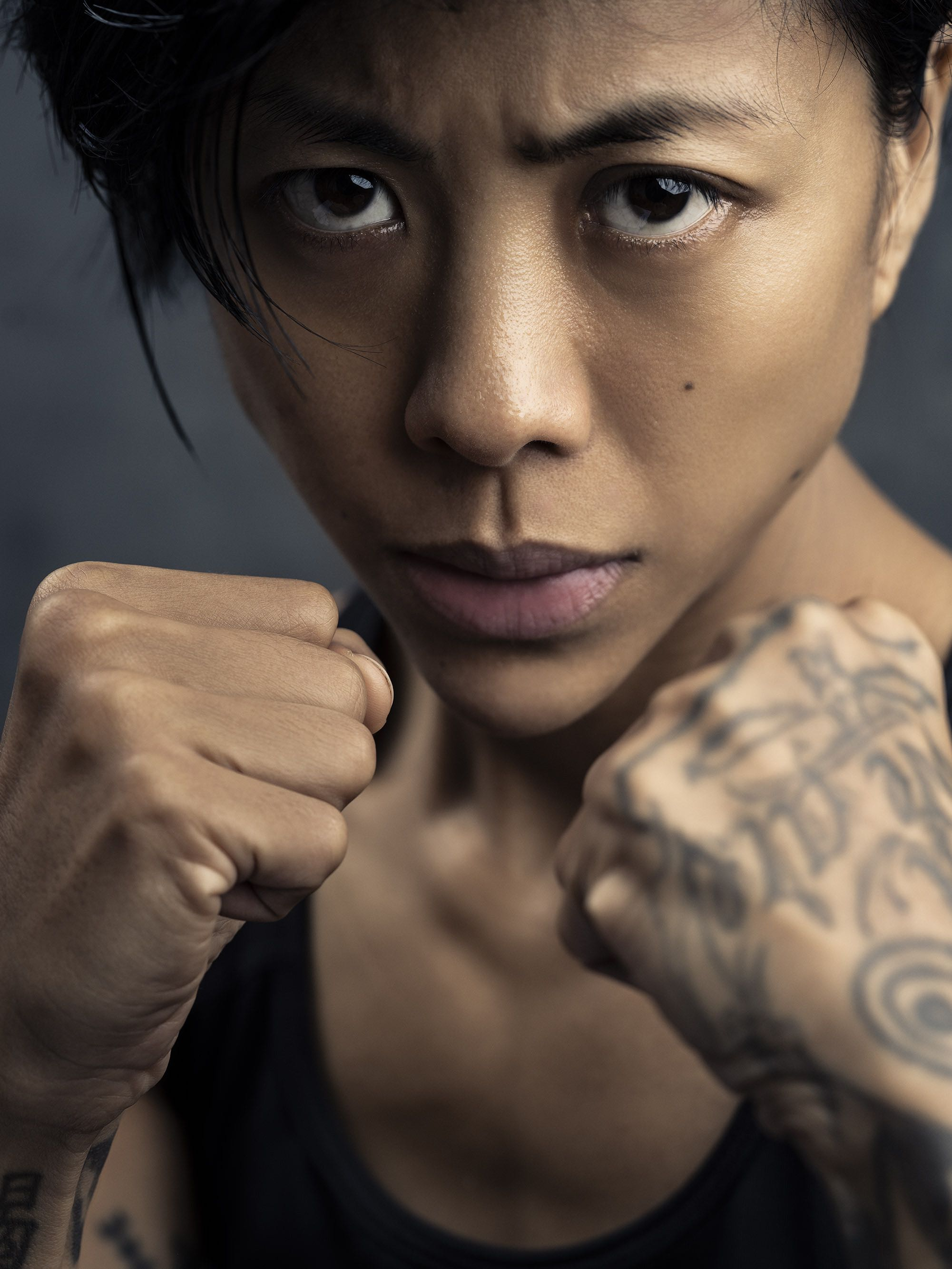 boxe Zsa Zsa woman athlete Commercial Editorial Portraiture Documentary Photographer fujifilm Director Singapore Jose Jeuland photography fashion street