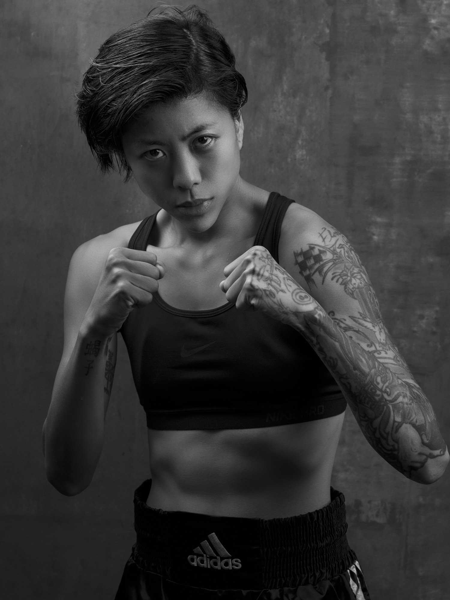 advertising Beauty boxer boxing woman Commercial Editorial Portraiture Documentary Photographer fujifilm Director Singapore Jose Jeuland photography fashion street