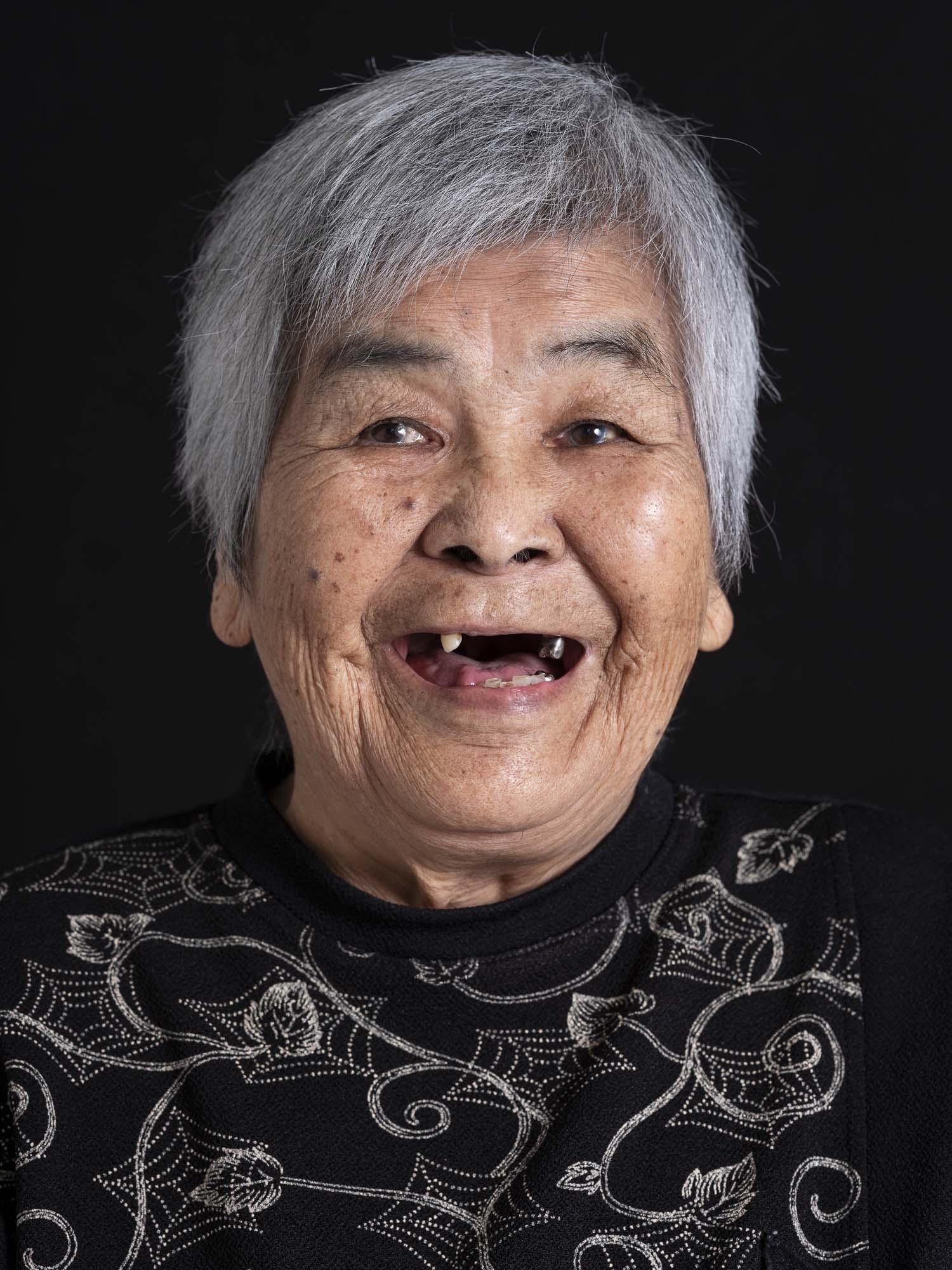 okinawa longevity smile lady old Commercial Editorial Portraiture Documentary Photographer fujifilm Director Singapore Jose Jeuland photography fashion