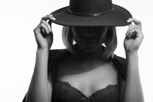mode lingerie aubade black white hat woman Commercial Editorial Portraiture Documentary Photographer fujifilm Director Singapore Jose Jeuland photography fashion