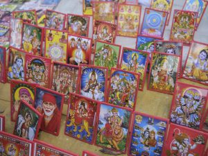 market goods god picture pilgrims Kumbh mela 2019 India Allahabad Prayagraj Ardh hindu religious Festival event rivers photographer jose jeuland photography
