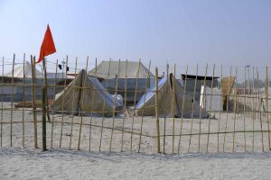 camp tent sleeping place pilgrims Kumbh mela 2019 India Allahabad Prayagraj Ardh hindu religious Festival event rivers photographer jose jeuland photography