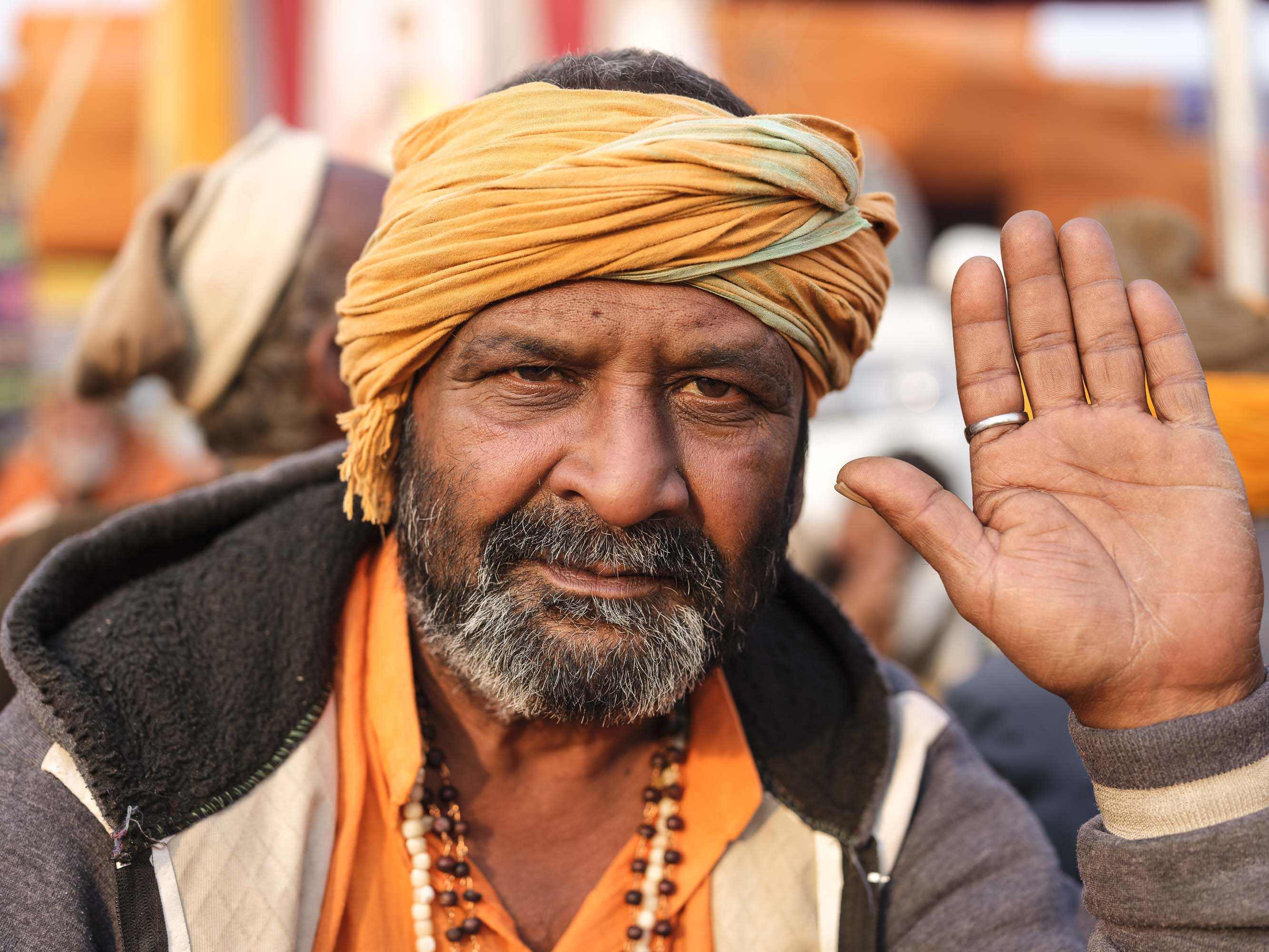 pilgrims Kumbh mela 2019 India Allahabad Prayagraj Ardh hindu religious Festival event rivers photographer jose jeuland photography