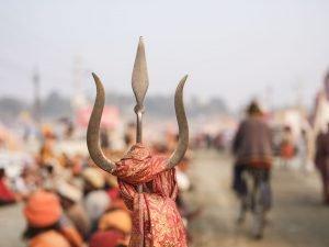 hinduism symbol shiva pilgrims Kumbh mela 2019 India Allahabad Prayagraj Ardh hindu religious Festival event rivers photographer jose jeuland photography