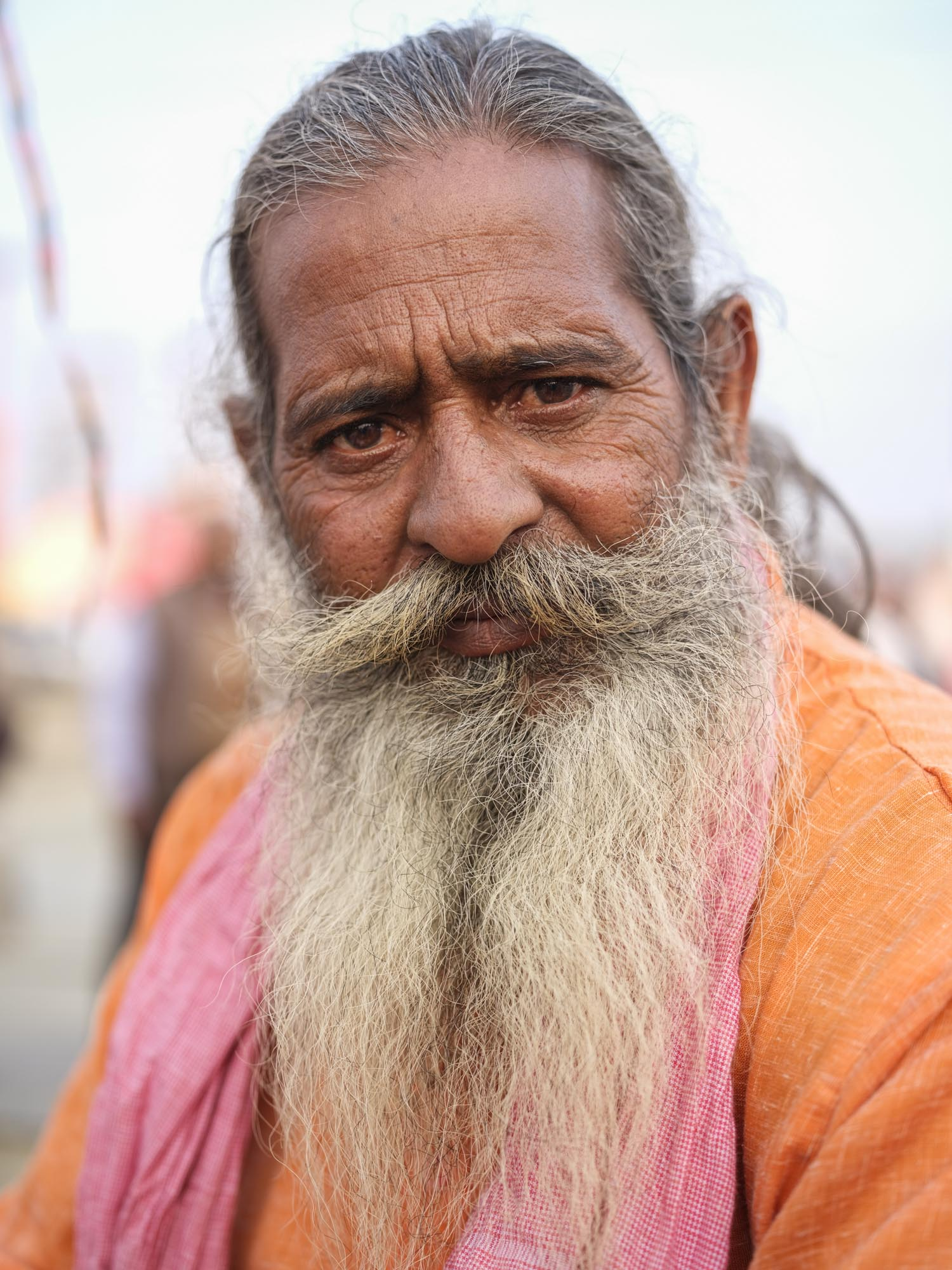 man market pilgrims Kumbh mela 2019 India Allahabad Prayagraj Ardh hindu religious Festival event rivers photographer jose jeuland photography
