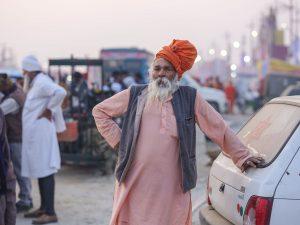 market camp pilgrims Kumbh mela 2019 India Allahabad Prayagraj Ardh hindu religious Festival event rivers photographer jose jeuland photography