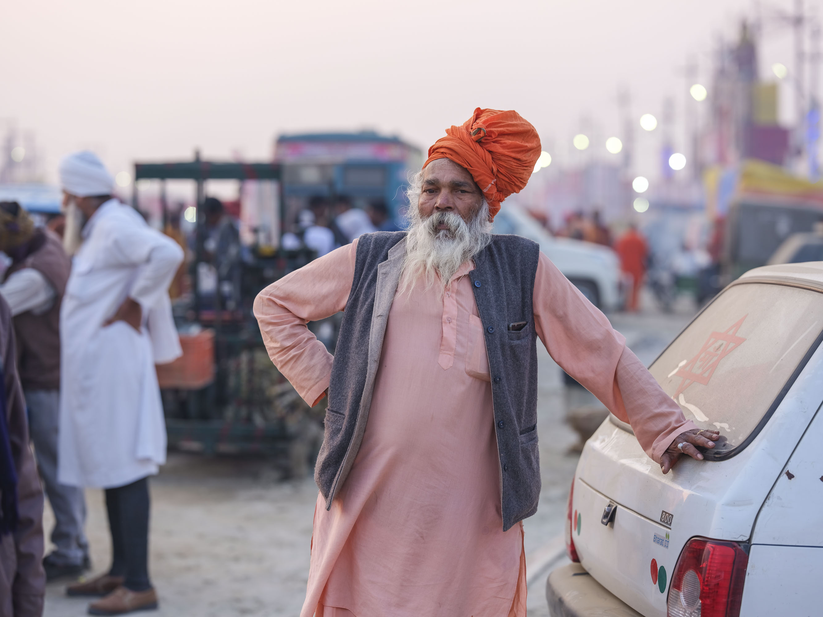 market camp pilgrims Kumbh mela 2019 India Allahabad Prayagraj Ardh hindu religious Festival event rivers photographer jose jeuland photography