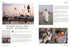 magazine reportage documentary pilgrims Kumbh mela 2019 India Allahabad Prayagraj Ardh hindu religious Festival event rivers photographer jose jeuland photography