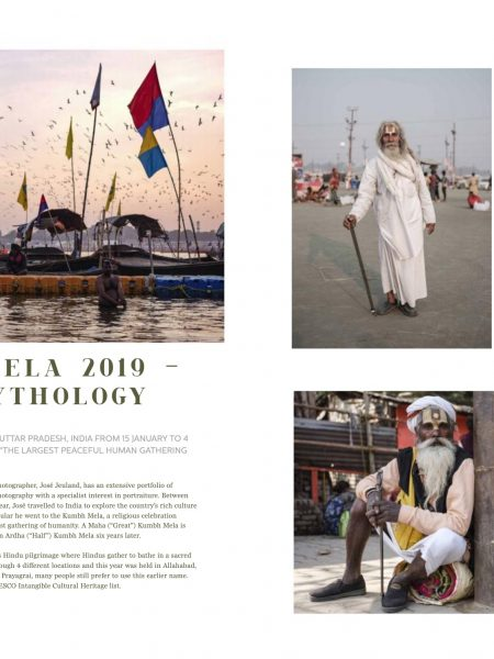 magazine reportage documentary pilgrims Kumbh mela 2019 India Allahabad Prayagraj Ardh hindu religious Festival event rivers photographer jose jeuland photography
