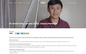 Asian Entrepreneur media kevin chua doctor singapore jose jeuland photographer headshot photography