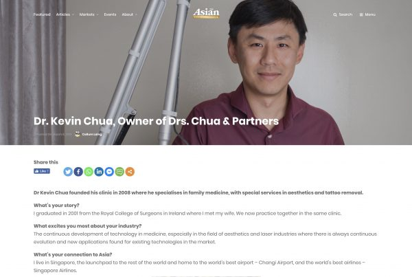 Asian Entrepreneur media kevin chua doctor singapore jose jeuland photographer headshot photography