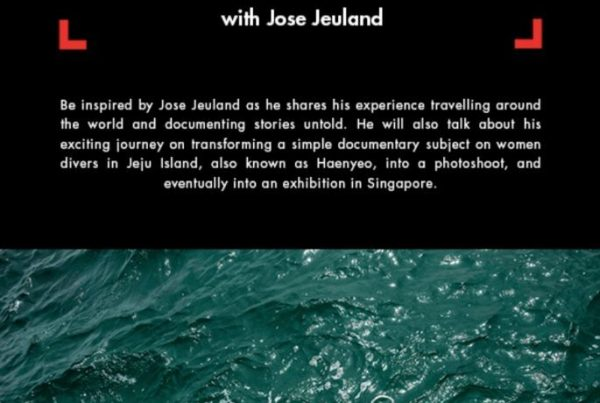 Cathay Photo Manfrotto photography talk jose jeuland photographer workshop singapore