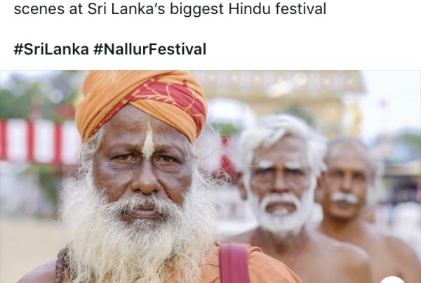 Light Foot Travel magazine nallur festival sri lanka jose jeuland photographer