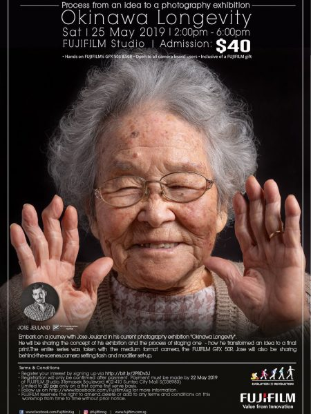 Jose jeuland photography workshop singapore photographer portrait studio okinawa longevity