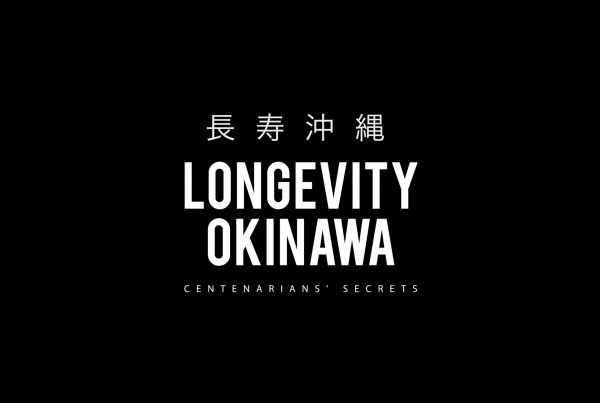 logo Longevity Okinawa documentary film by jose jeuland photographer centenarian health living