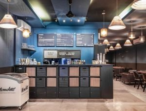 Interior Photography by Jose Jeuland Burger Frites Cashier Desk