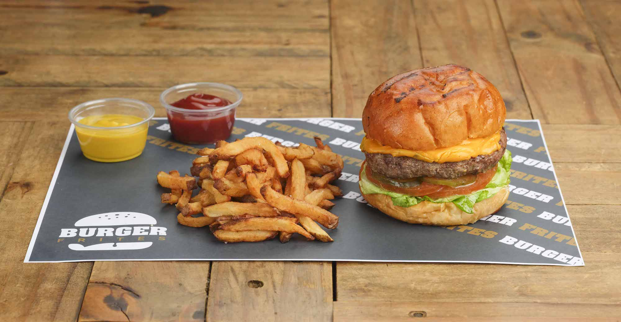 Food Photography by Jose Jeuland Burger and Fries on a table